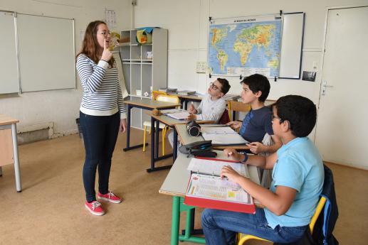 Collège INJS - Enseignement général - Cours de LSF