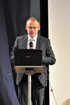 Professeur Marc Labrousse, président de l'Institut Michel Fandre de Reims.