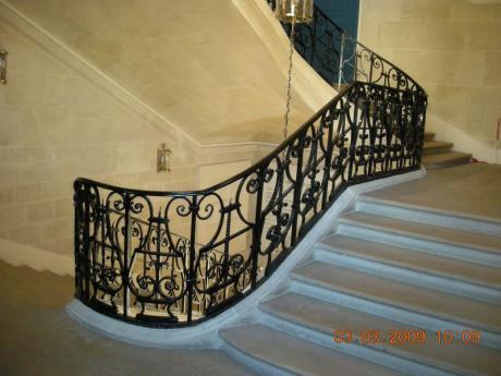L'escalier d'honneur