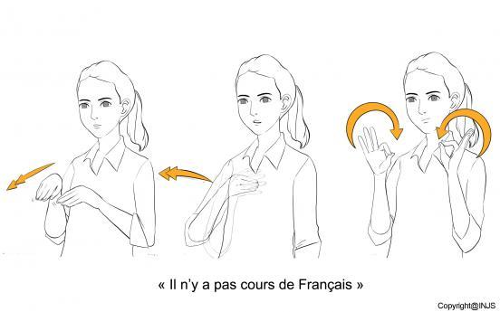 Il n'y a pas cours de Français
