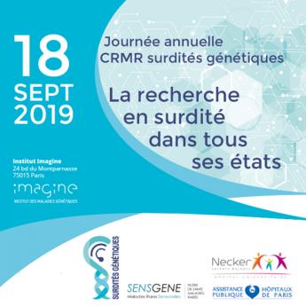 Journée annuelle CRMR surdités génétiques