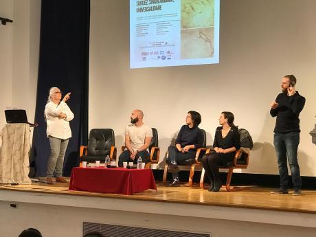 Véronique Geffroy, Sandy Sabate, Sandrine Rincheval et Noémie Churlet