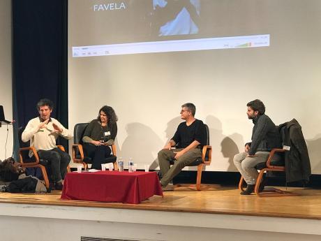Olivier Chetrit, Andrea Benvenuto, Nelson Pimenta et Jean Beppe