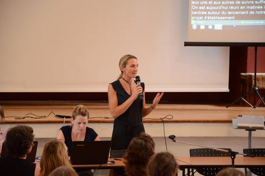 Projet d'établissement INJS, séance plénière Mme Elodie Hémery, directrice de l'INJS de Paris,2015